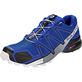 Salomon Speedcross 4 Shoes Herre mazarine blue wil/black/white
